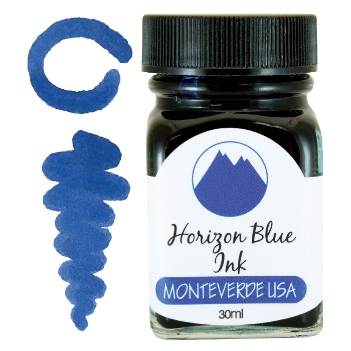Monteverde Horizon Blue Ink - 30ml Bottle