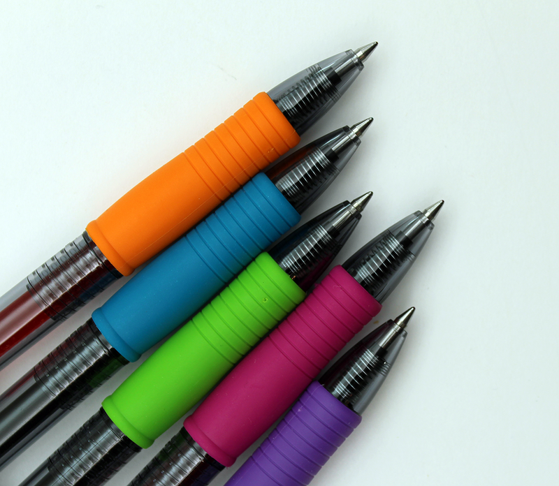 Pilot G2 Retractable Gel Ink 5 Pack - 0.7mm