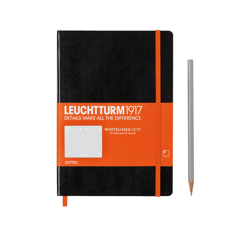 Leuchtturm1917 - Whitelines Hardcover Notebook - Medium (A5) - Dotted