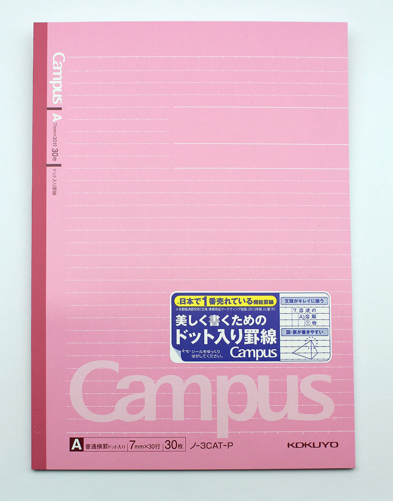 Kokuyo Campus Notebook Dot Semi-B5 - Pink
