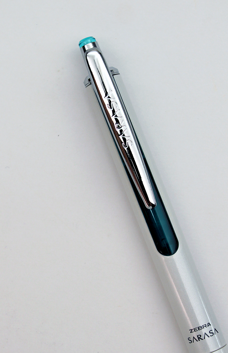 Zebra Sarasa Grand Retractable Pen - 0.7mm - White