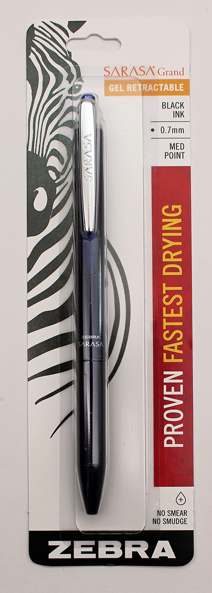 Zebra Sarasa Grand Retractable Pen - 0.7mm - Navy Blue