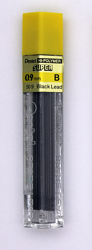Pentel Super Hi-Polymer Lead 0.9mm - B