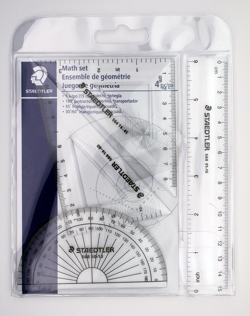 Staedtler Math Set - 4 Piece