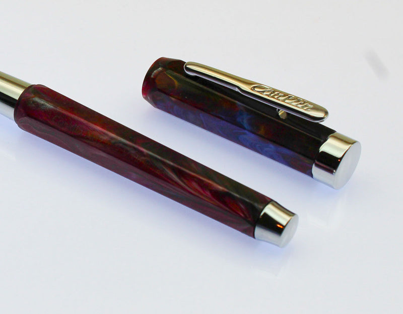 Conklin Nozac Fountain Pen - Toledo Red - Fine