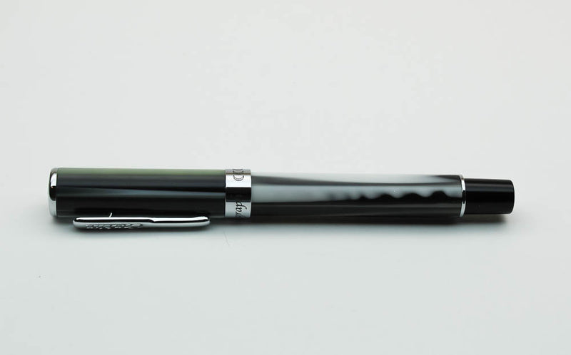 Conklin Stylograph Matte Fountain Pen - Polar White - Fine