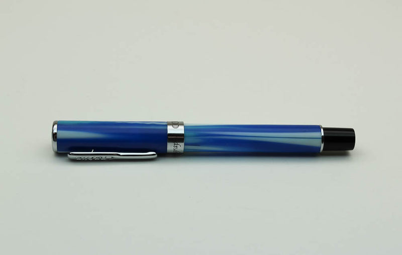 Conklin Stylograph Matte Fountain Pen - Arctic Blue - Medium