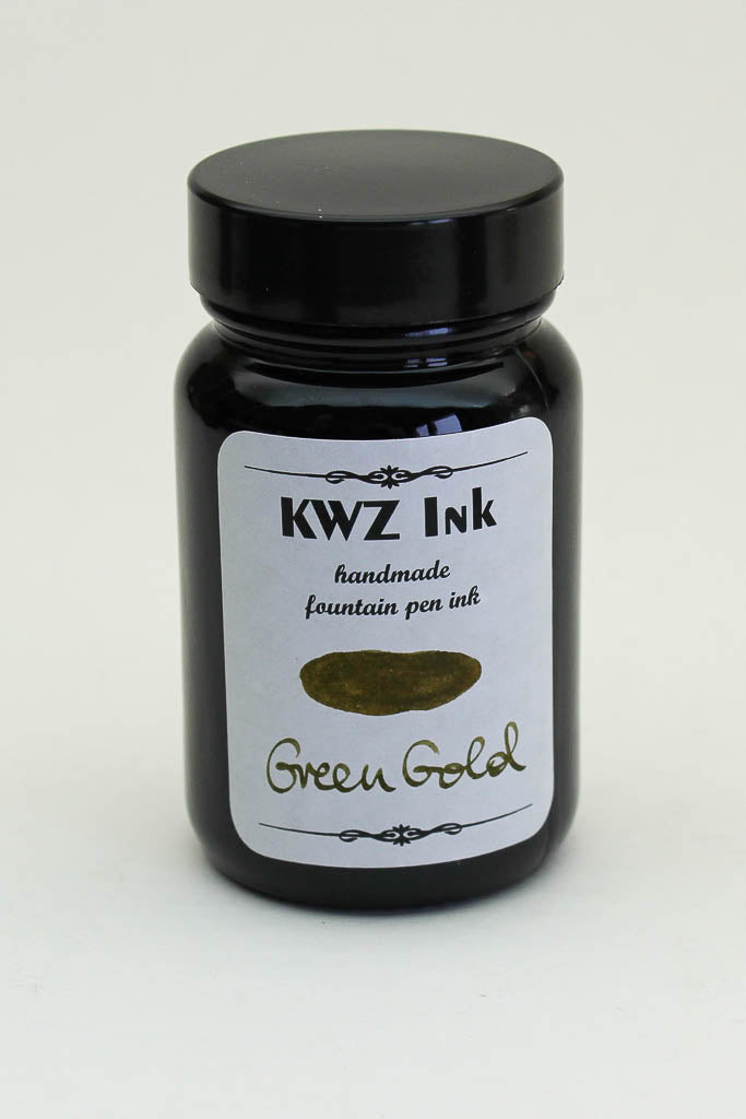 KWZ Green Gold Ink - 60ml Bottle