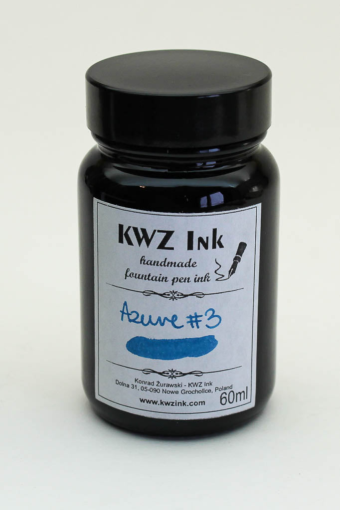 KWZ Azure #3 Ink - 60ml Bottle