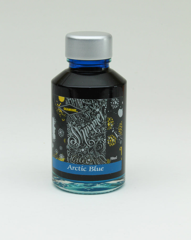 Diamine Arctic Blue Ink   50-ml Bottle