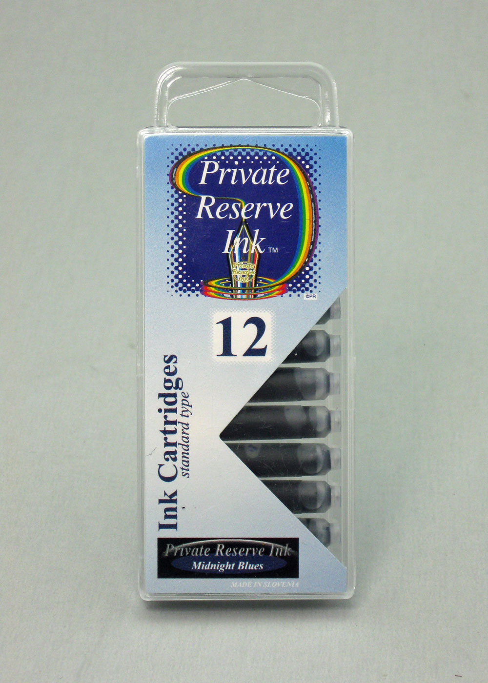 Private Reserve Midnight Blues Ink - Cartridges