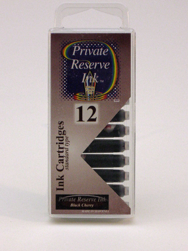 Private Reserve Black Cherry Ink - Cartridges