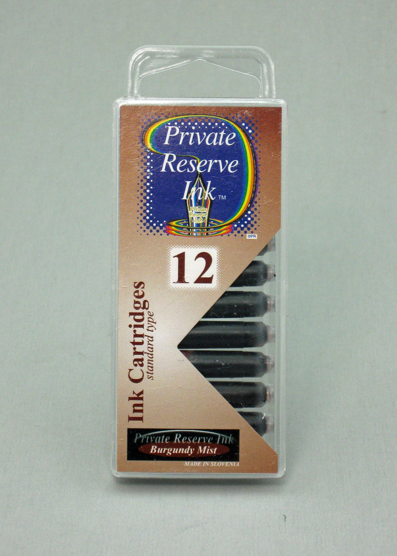 Private Reserve Burgundy Mist Ink- Cartridges
