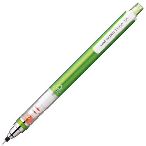 Uni Kuru Toga Mechanical Pencil - Green - 0.5mm