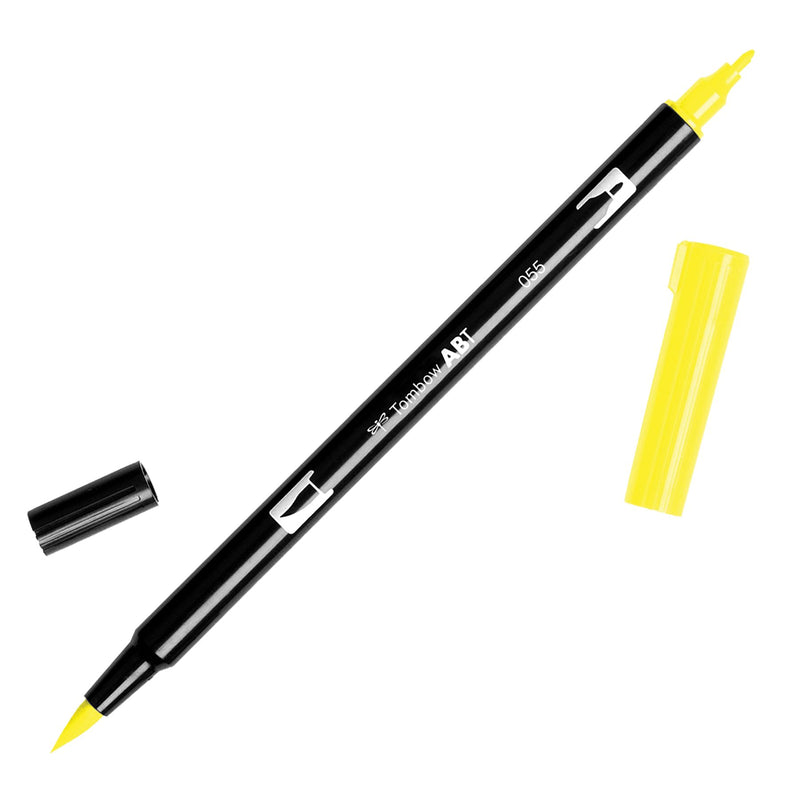 Towbow Dual Brush Pen - Process Yellow (055)