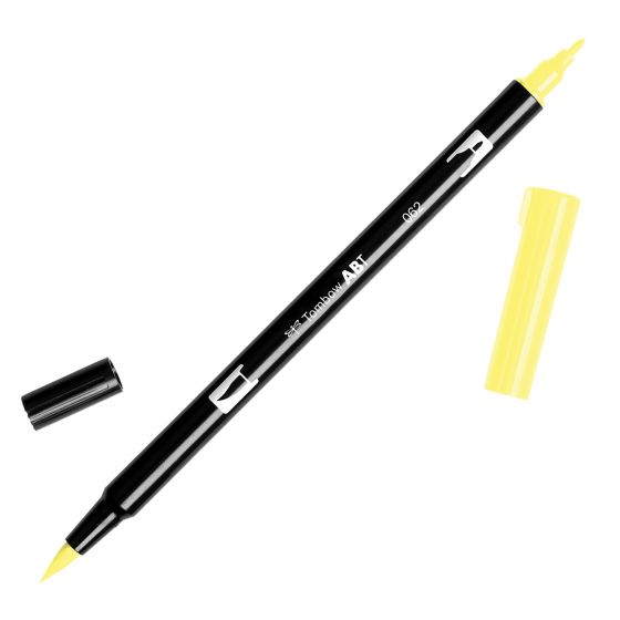 Towbow Dual Brush Pen - Pale Yellow (062)