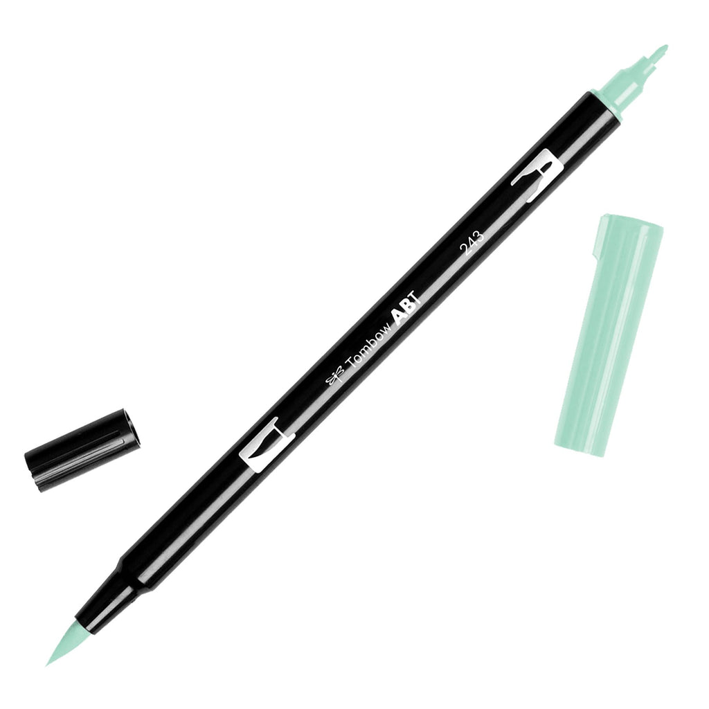 Towbow Dual Brush Pen - Mint (243)