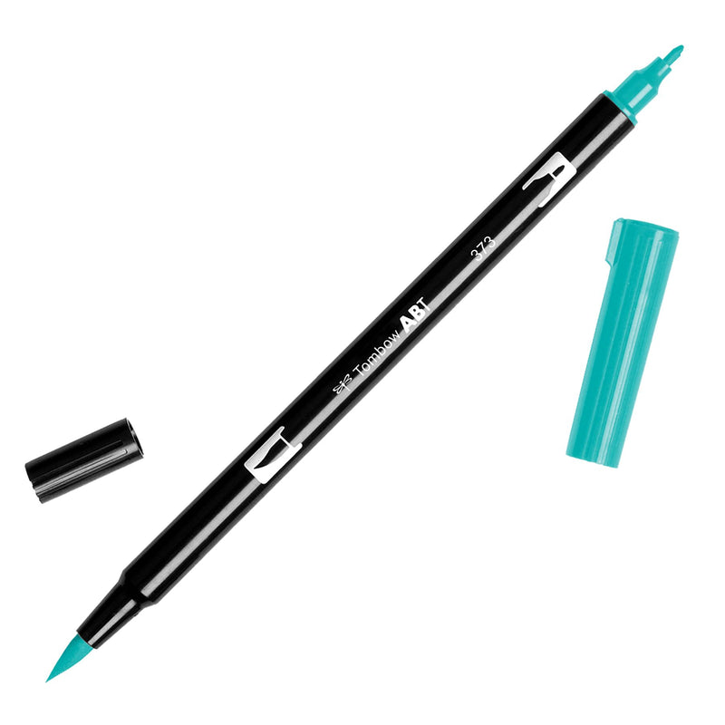 Towbow Dual Brush Pen - Sea Blue (373)