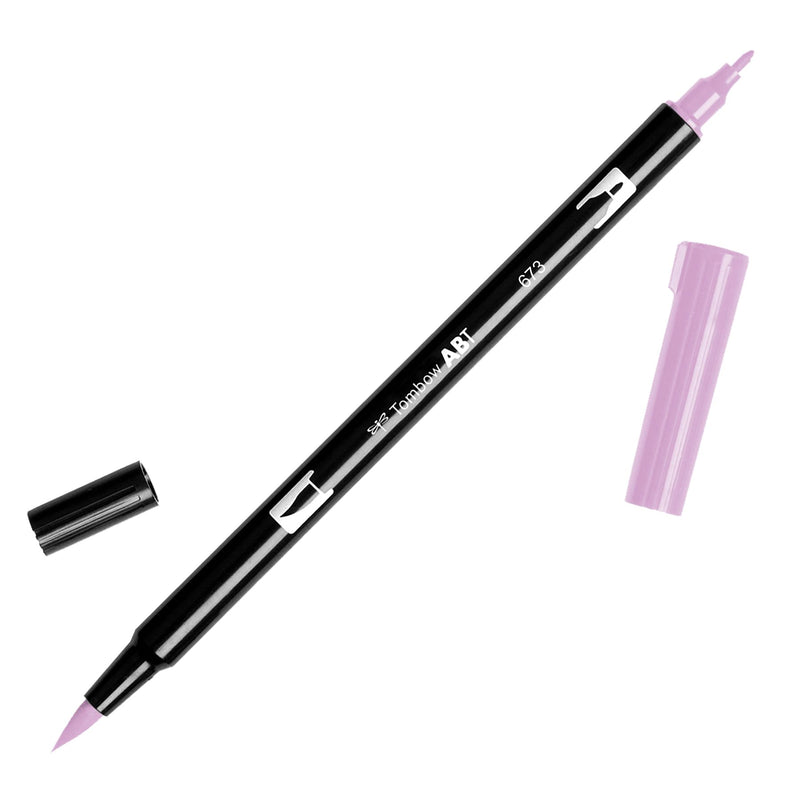 Towbow Dual Brush Pen - Orchid (673)