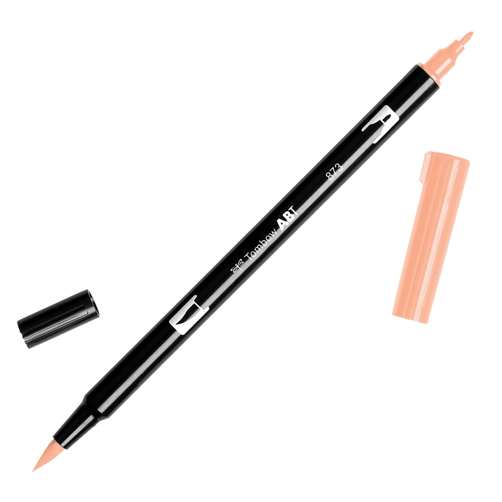 Towbow Dual Brush Pen - Coral (873)
