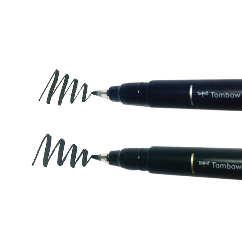 Tombow Fudenosuke Brush Pen 2-Pack