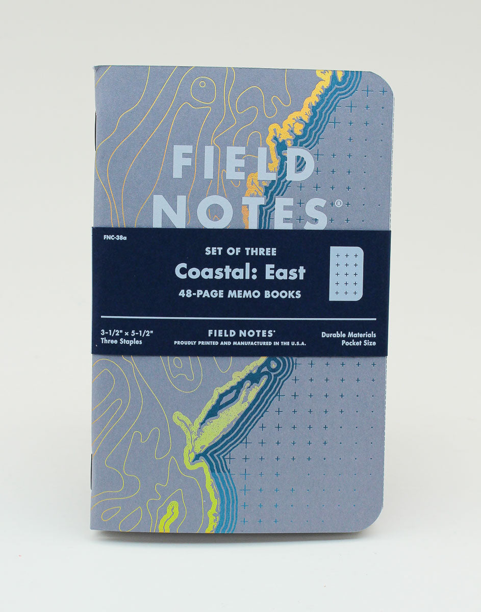 Field Notes Notebook - Coastal: East - Dot Grid