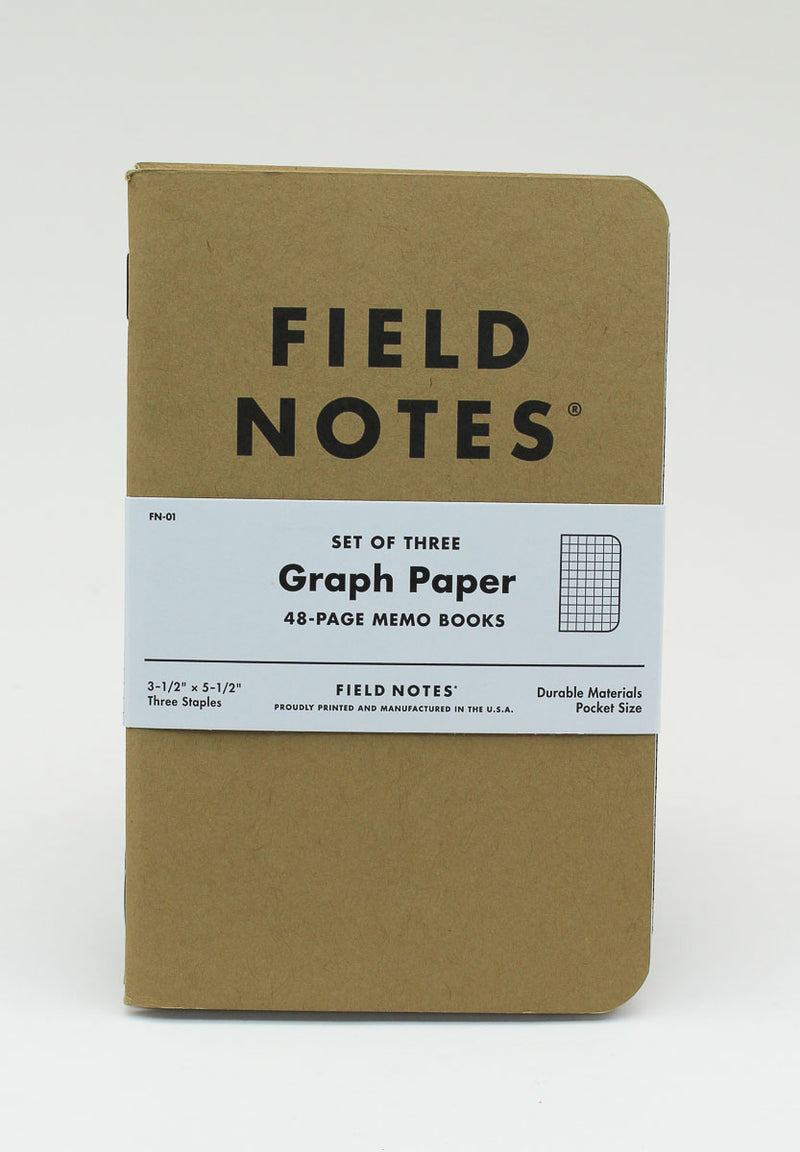 Field Notes Notebook - Original - Graph