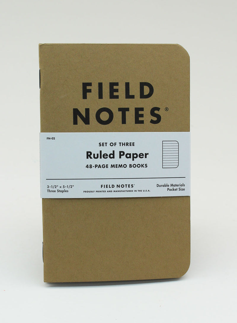 Field Notes Notebook - Original - Ruled