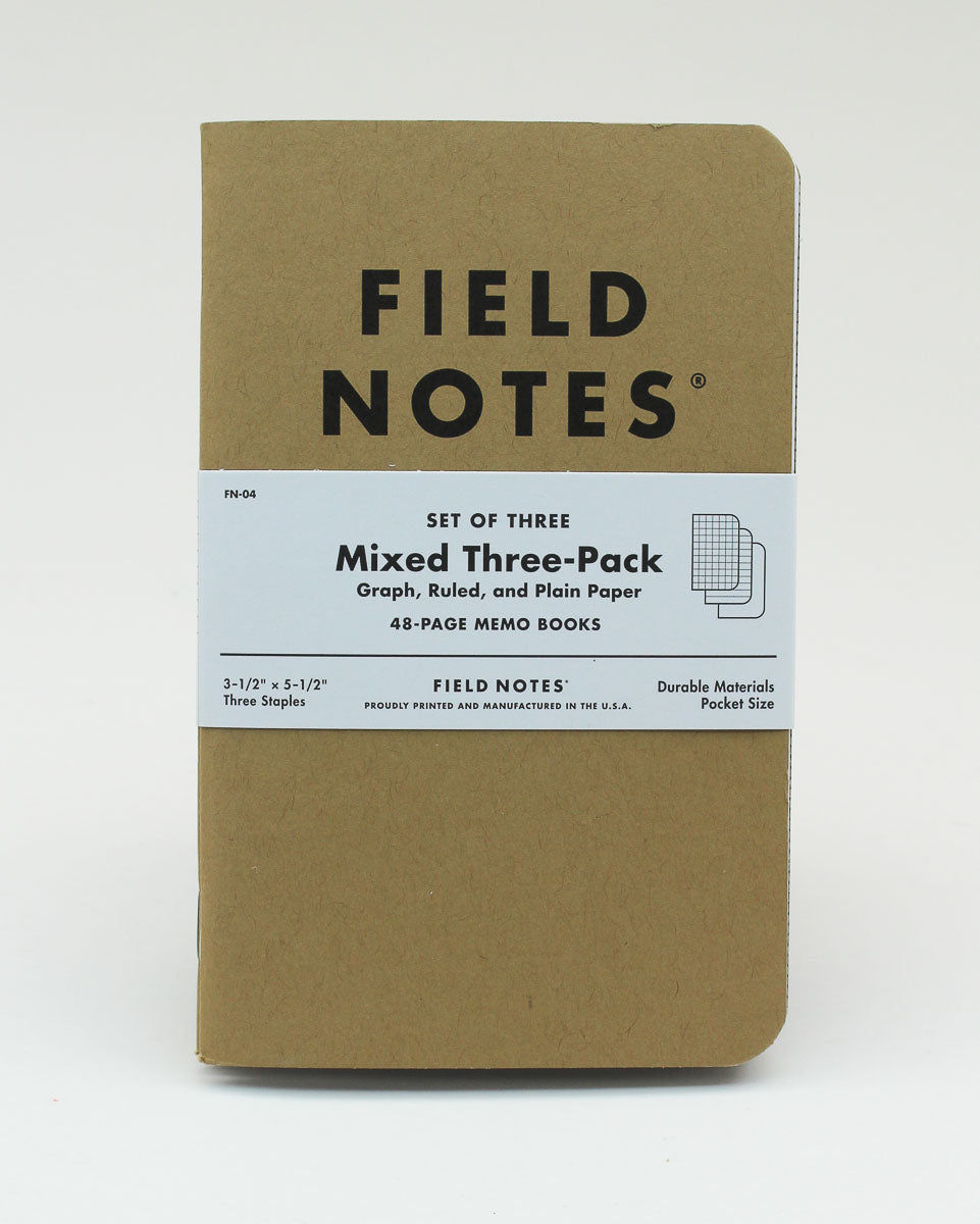 Field Notes Notebook - Original - Mixed