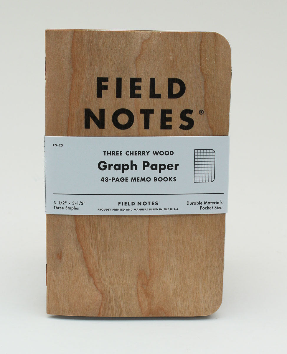 Field Notes Notebook - Cherry - Graph