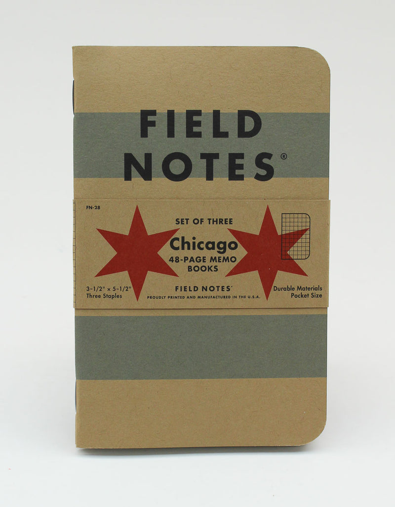 Field Notes Notebook - Chicago - Graph