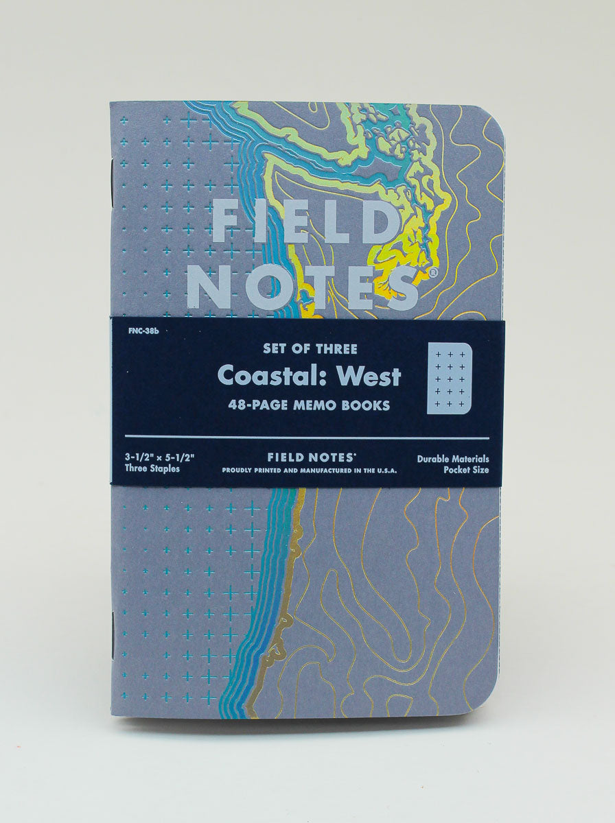 Field Notes Notebook - Coastal: West - Dot Grid