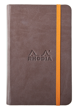 Rhodia A5 Rhodiarama Webnotebook Chocolate Lined 96 Sheets - 5 ½ x 8 ¼