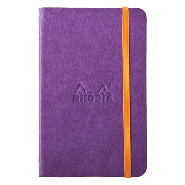 Rhodia A5 Rhodiarama Webnotebook Purple Lined 96 Sheets - 5 ½ x 8 ¼
