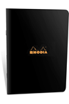 Rhodia Classic Notebooks Side Staplebound 6x8-1/4 Lined Black