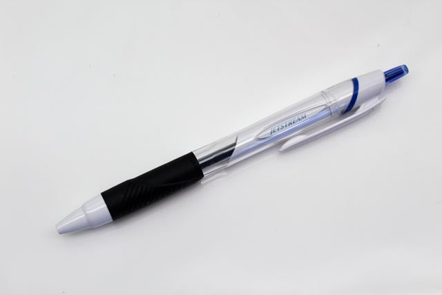 Uni Jetstream 0.5mm White - Blue Ink