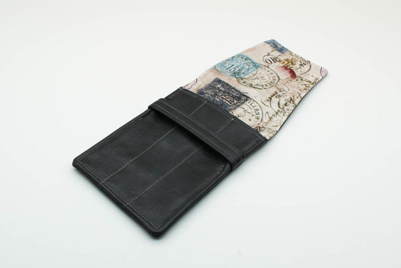 Gray Leatherette Pen Case - Postage