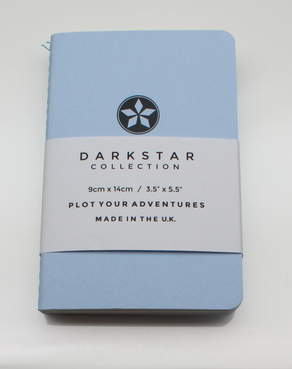 DarkStar Collection Pocket Notebook - Blue - Dot Grid