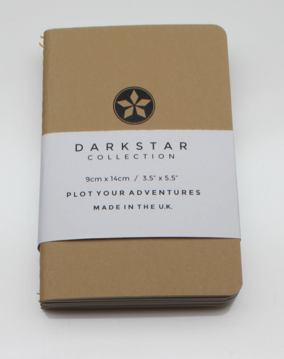 DarkStar Collection Pocket Notebook - Nomad