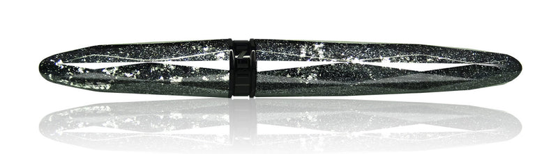 Benu Pen - Briolette Collection - Silver Ore Fountain Pen - Fine
