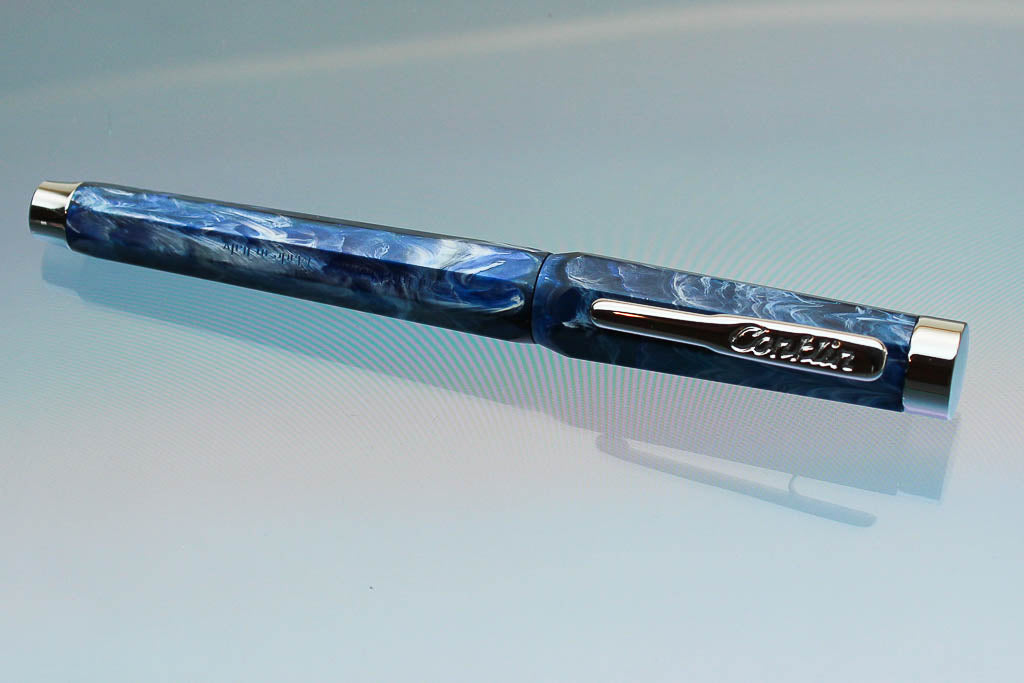Conklin Nozac Fountain Pen -Ohio Blue - Medium
