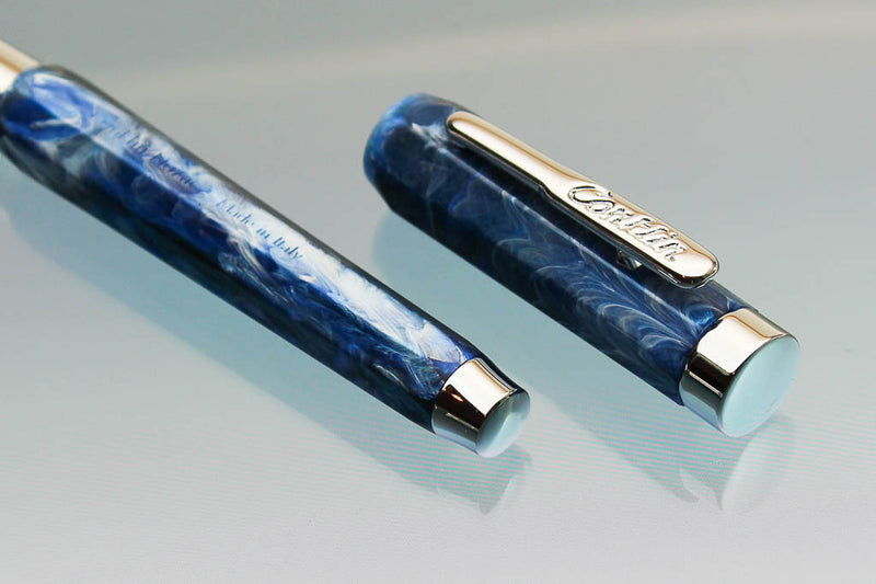 Conklin Nozac Fountain Pen -Ohio Blue - Fine