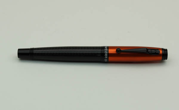 Monteverde Invincia Carbon Fiber Fountain Pen - Orange, Fine