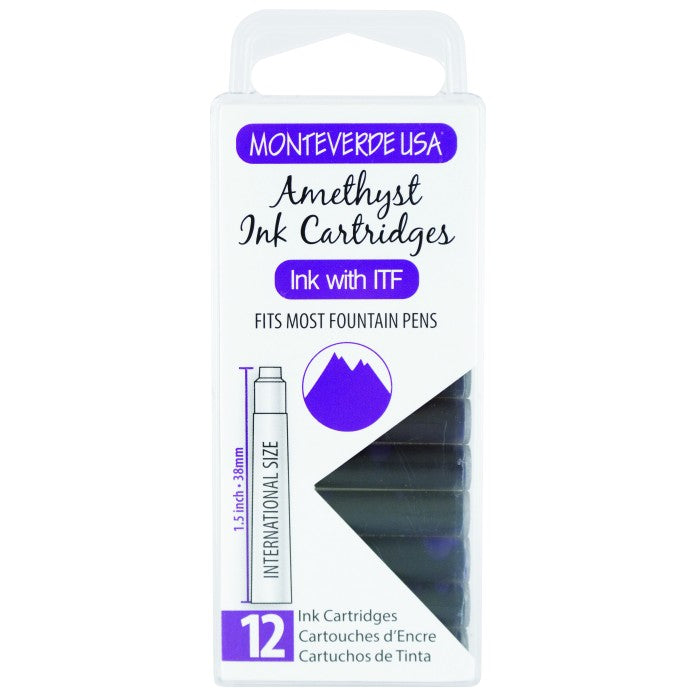 Monteverde Amethyst Ink - Cartridges