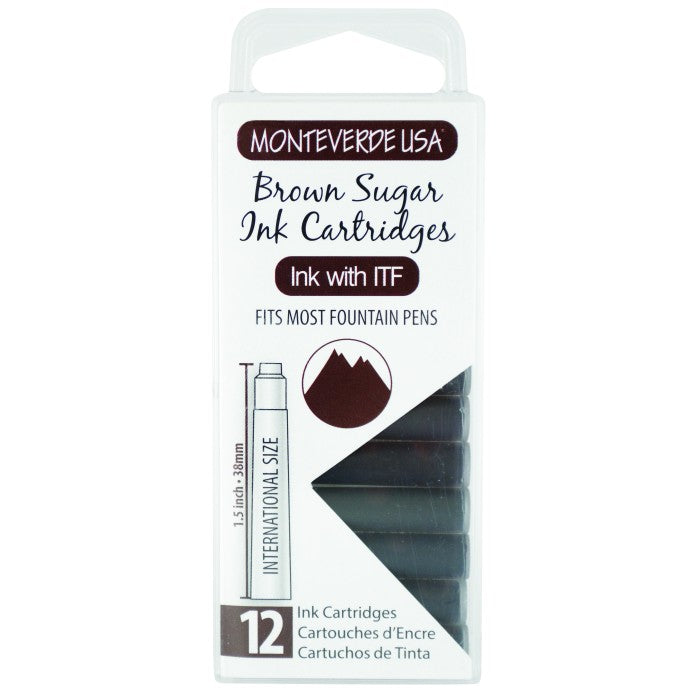 Monteverde Brown Sugar Ink - Cartridges