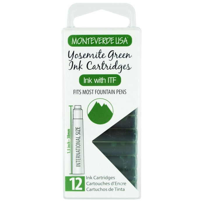 Monteverde Yosemite Green Ink - Cartridges