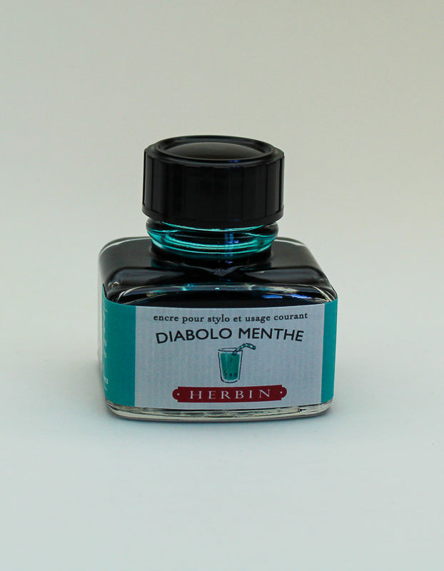 J. Herbin Diabolo Menthe Ink - 30ml Bottle