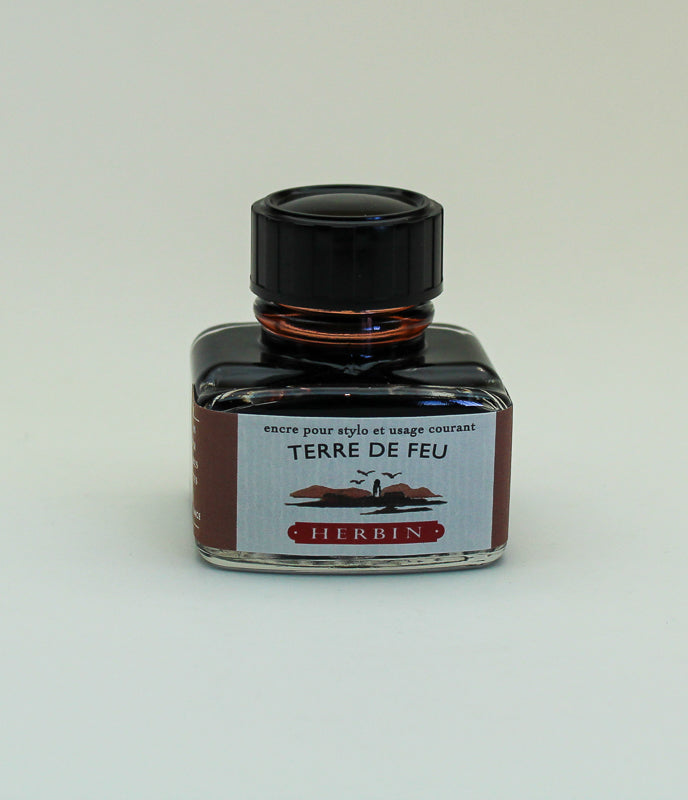 J. Herbin Terre de feu Ink - 30ml Bottle