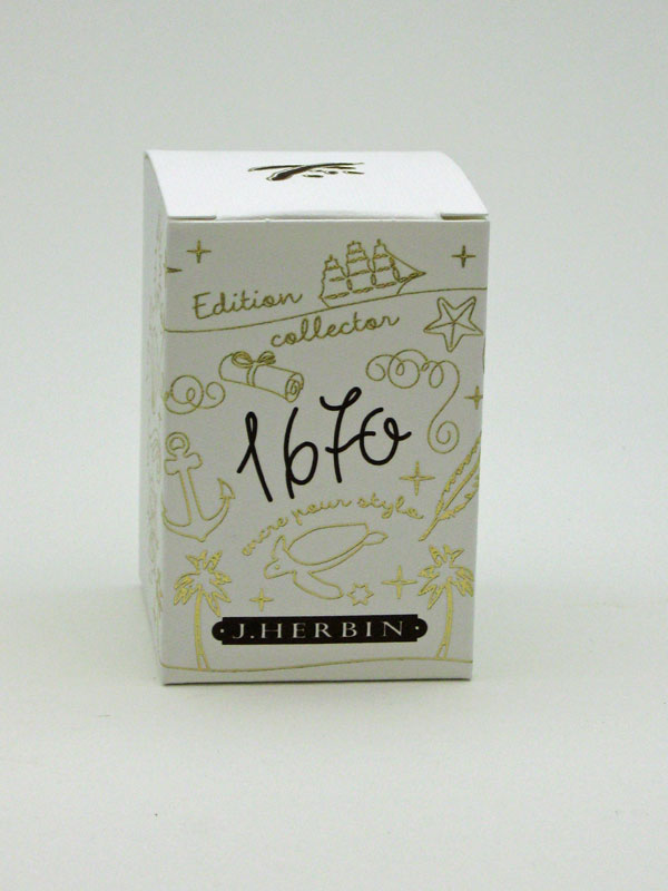 J. Herbin 1670 Caroube de Chypre Ink - 50ml Bottle