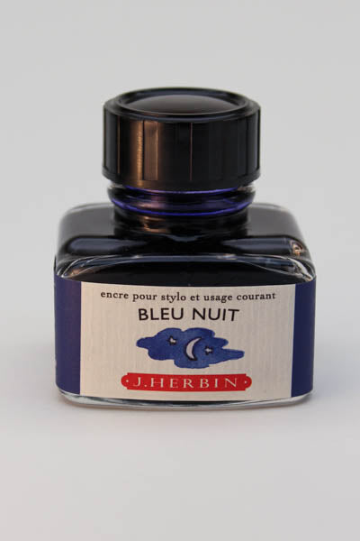 J. Herbin Bleu Nuit Ink - 30ml Bottle